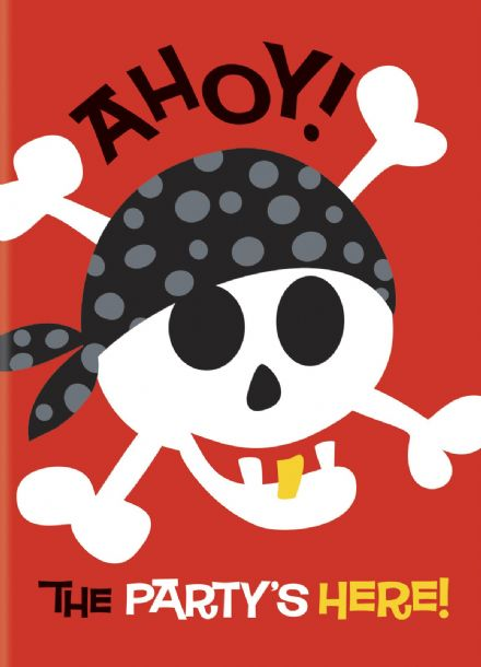 8 Pirate Fun Party Invites
